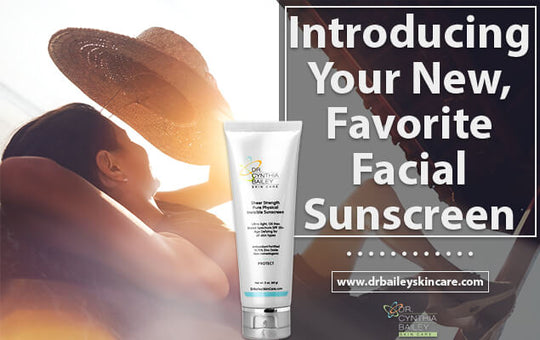 Introducing Your New, Favorite Facial Sunscreen