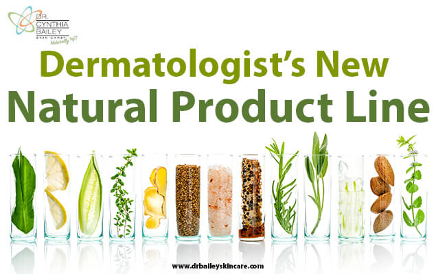 Dermatologist's New Natural Product Line