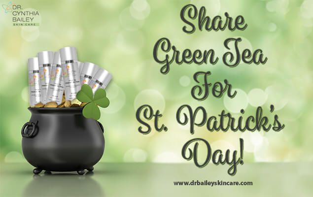 Share Green Tea for St. Patrick's Day
