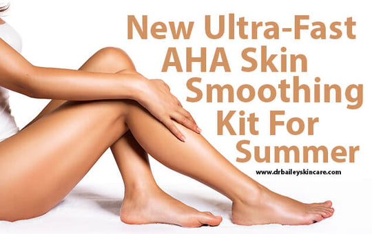 New Ultra-Fast AHA Skin Smoothing Kit for Summer