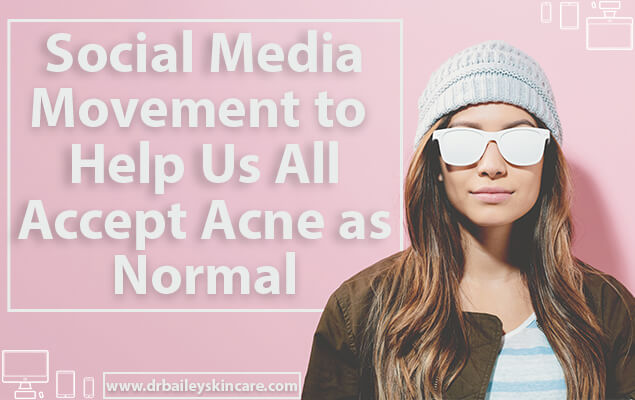 Accepting Acne as Normal