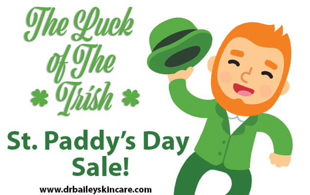 The Luck of the Irish St. Paddy's Day Sale!