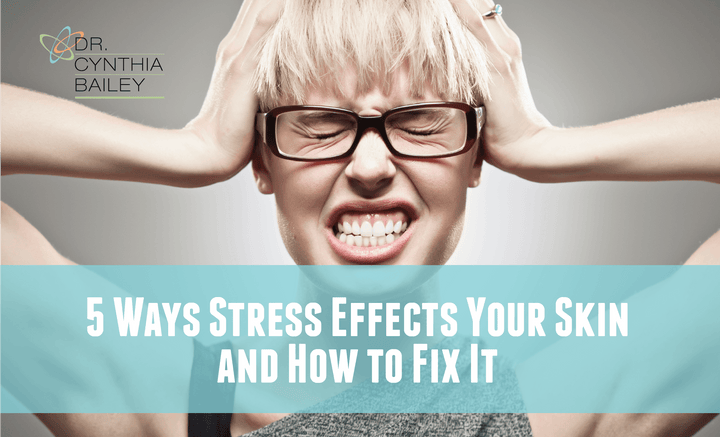 How does stress effect your skin?