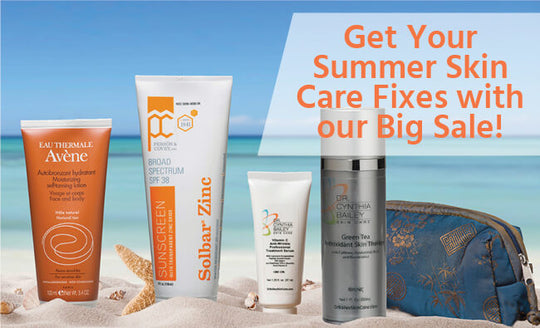 Get Your Summer Skin Care Fixes with Our Big Sale!