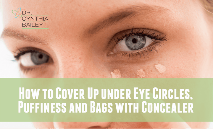 How To Cover Up Under Eye Circles, Puffiness and Bags with Concealer