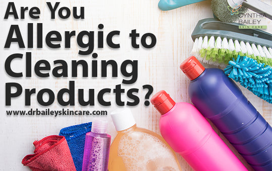Are You Allergic to Cleaning Products?