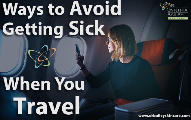 Avoiding germs while traveling