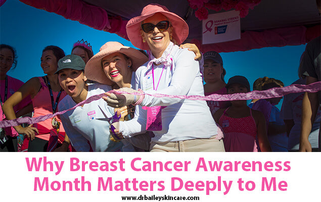 Why Breast Cancer Awareness Month Matters Deeply to Me