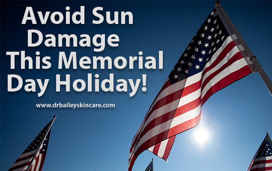 Avoiding sun damage this memorial day weekend