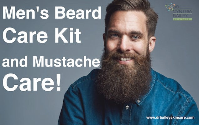 Men's Beard and Mustache Care Kit