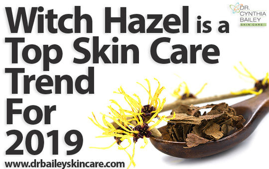 Witch Hazel is a Top Skin Care Trend for 2019