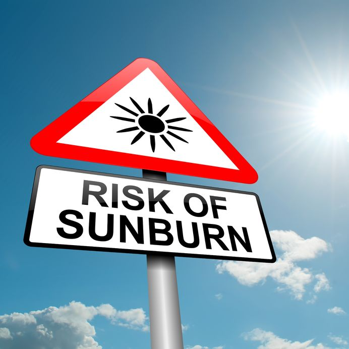 who is at highest risk for sunburn