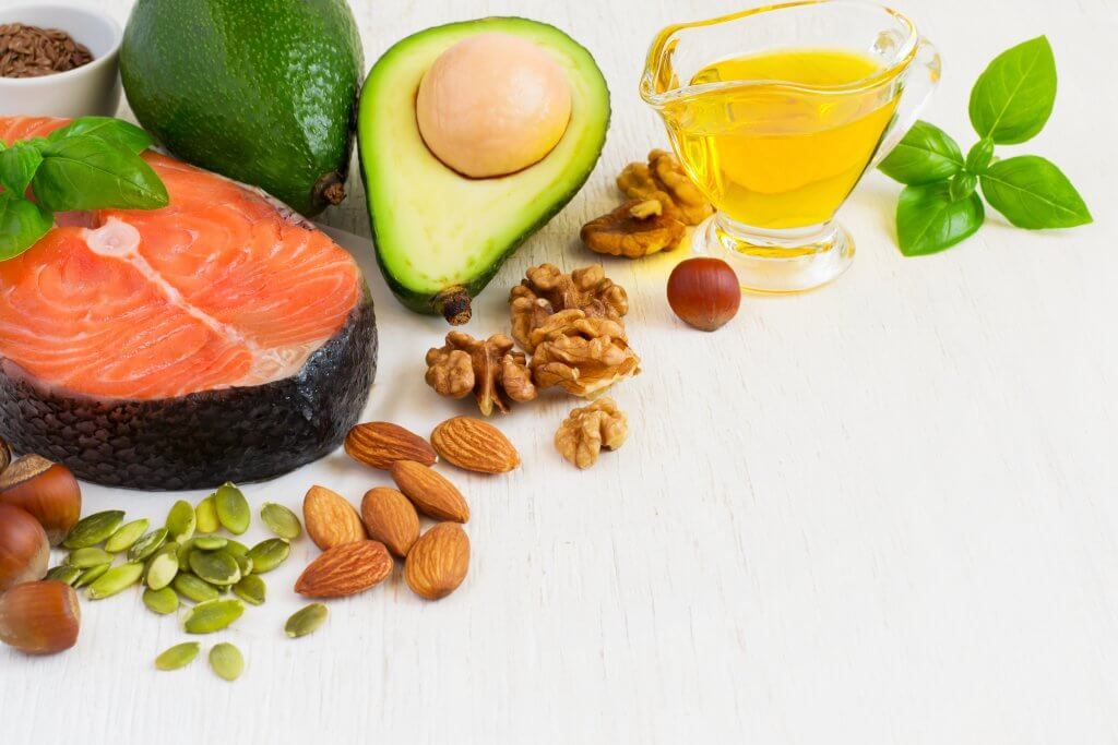 Good fats and bad fats for your diet and healthy skin.