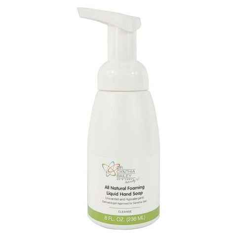 natural foaming liquid hand soap fragrance and chemical free