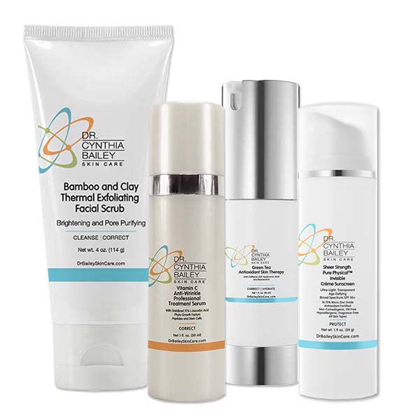 Dr. Bailey's Anti-Aging Antioxidant Skin Care Kit