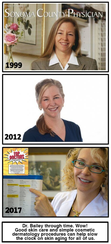 Skin wellness and Dr. Bailey through the years