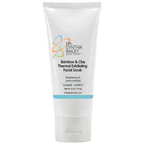 Try bamboo and clay scrub to exfoliate facial skin and get glowing skin for your wedding day!
