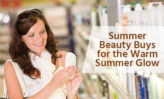 Beauty Buys for Summer Glow