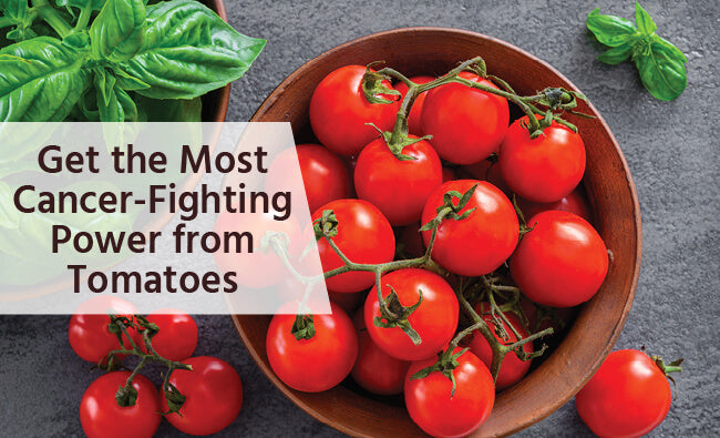 Cancer-Fighting Tomatoes