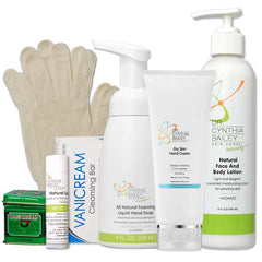 Dermatologist and cancer survivor's chemotherapy skin care kit