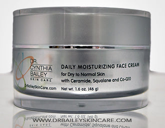 hypoallergenic face cream to heal dry skin