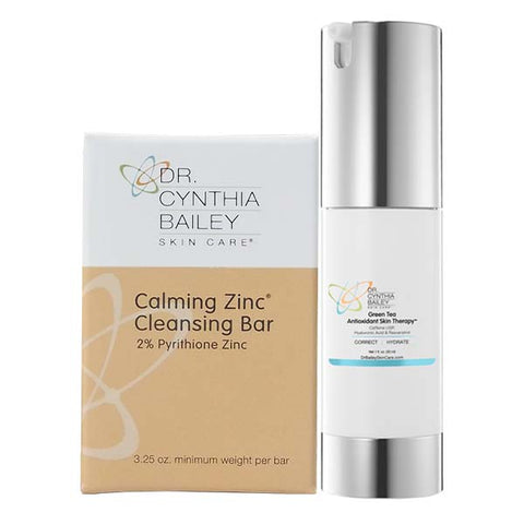 Facial Redness Relief Kit for Psoriasis