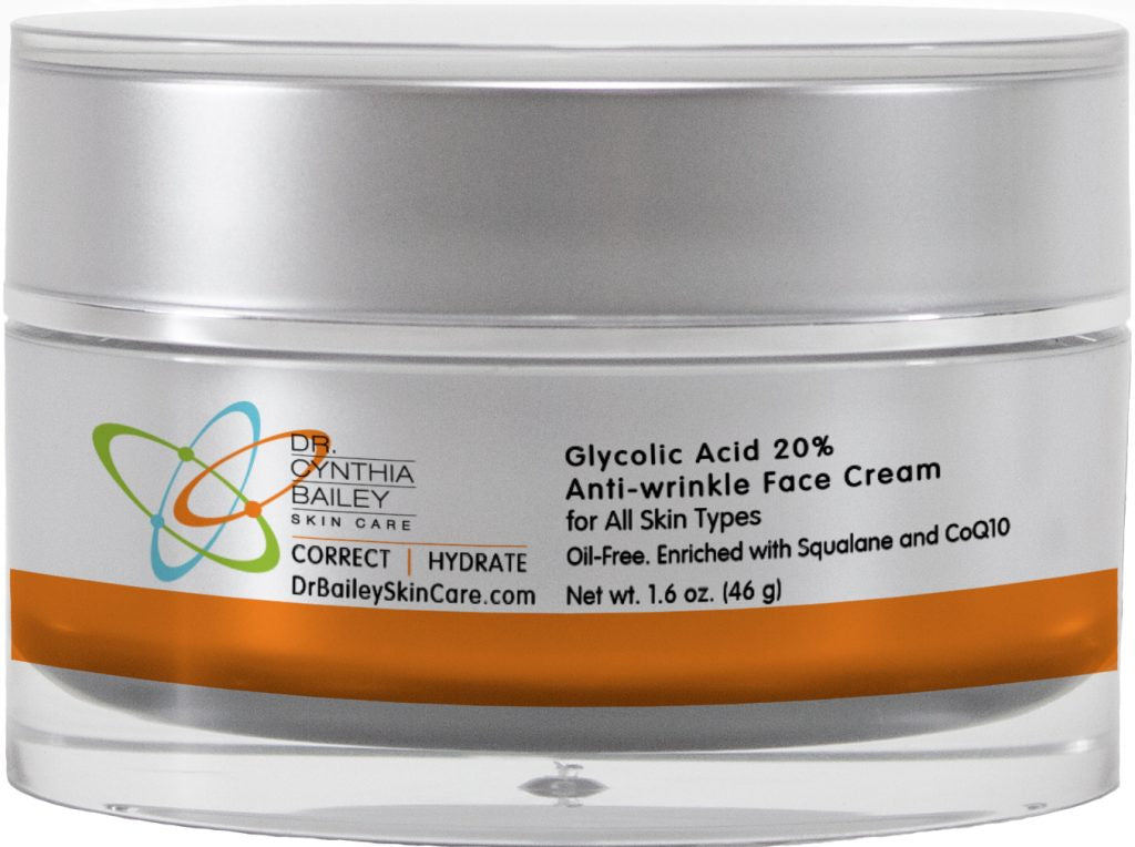 while sleeping this is the best professional strength glycolic acid face cream to fight aging skin