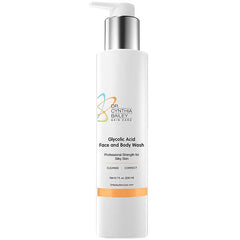 Glycolic acid acne facial cleanser