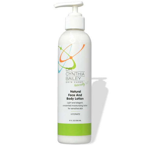 fragrance-free natural body lotion without phthalates