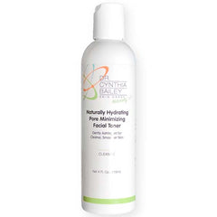 Naturally hydrating pore minizing toner to use after acne cleanser