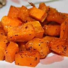 roasted butternut squash is a great source of beta carotene for your skin