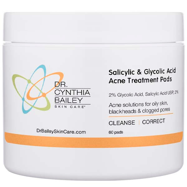best acne treatment pads with salicylic acid for oily skin and clogged pores