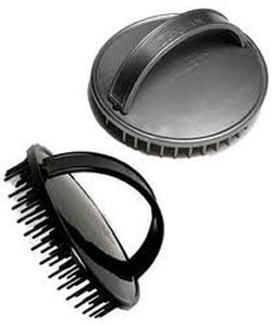 a great plastic scalp scrubber brush
