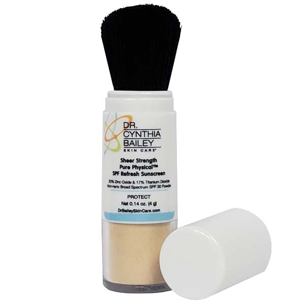 how to apply powder sunscreen dermatologist tips