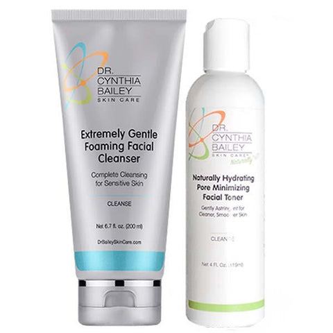 dermatologist recommended facial skin cleanser for after menopause