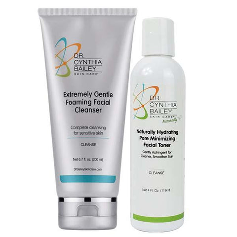 best two step skin cleansing
