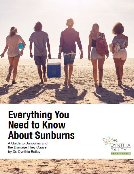 dermatologist's guide to sun protection and sun burn treatment