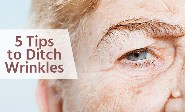 Tips to Ditch Wrinkles