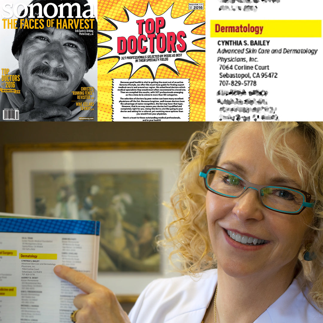 Dr. Cynthia Bailey voted top dermatologist by her peers in Sonoma County