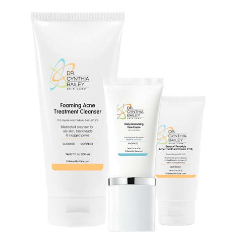 dermatologist's ultimate acne solutions skin care kit