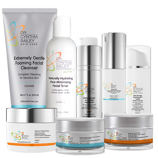 best products for correcting sun damage and pigment skin problems better than obagi nu derm
