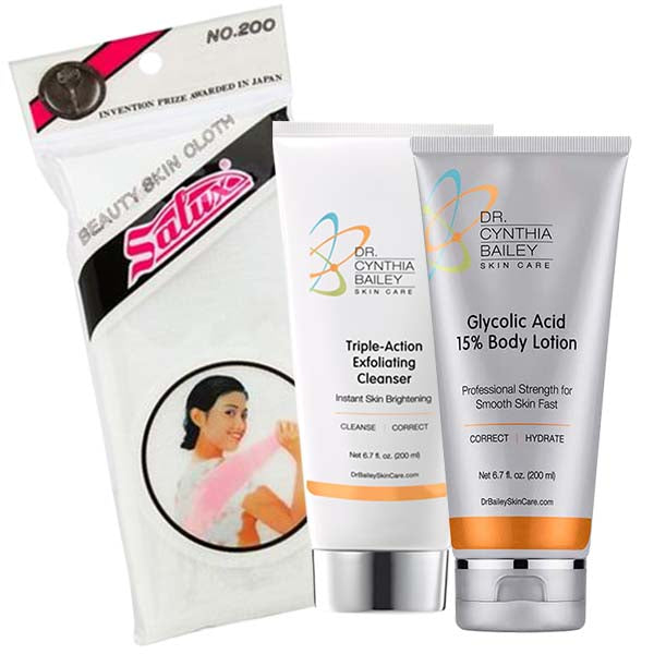 best products for smooth skin and to remove brown or white age spots