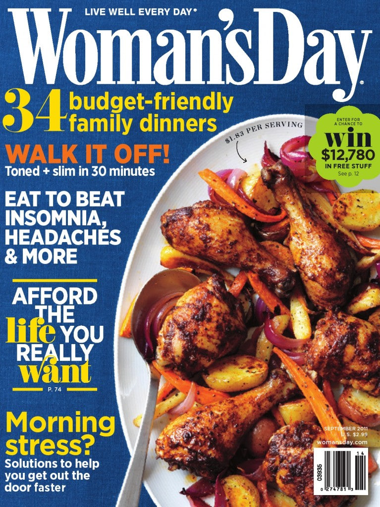 Woman's Day Cover September 2011