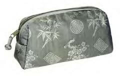 buy silk cosmetic bag online