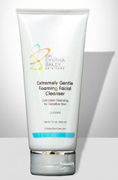 best gentle face cleanser used by dermatologist