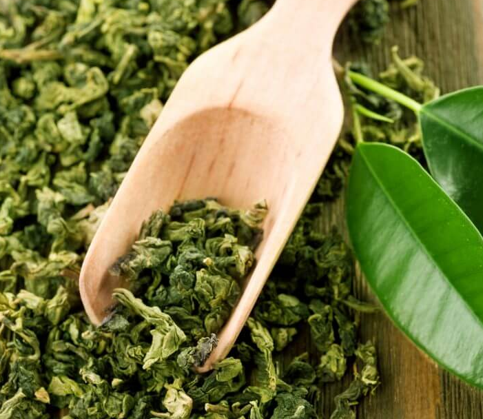 green tea antioxidants are good for skin