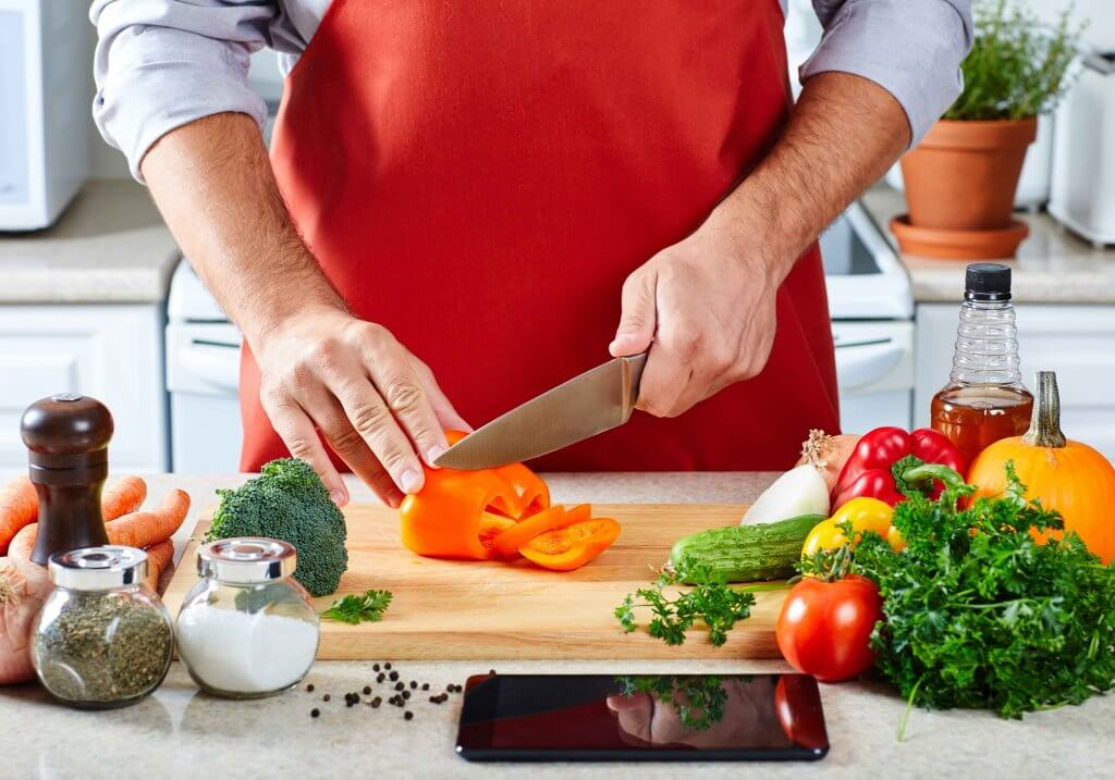 healthy cooking to fight skin problems