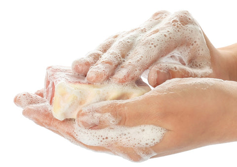 how to pop a pimple start by washing your hands well