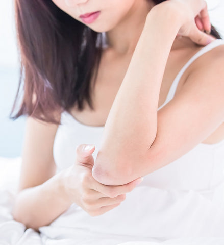 itchy upper arms brachioradial pruritus