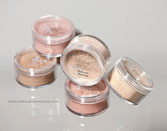 hypoallergenic mineral powder for oily skin